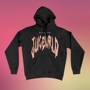 Juice WRLD Tell Me U Luv Me Black Hoodie